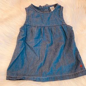 Carters jean shirt
